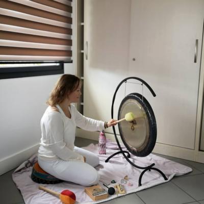 Séance bain de gong