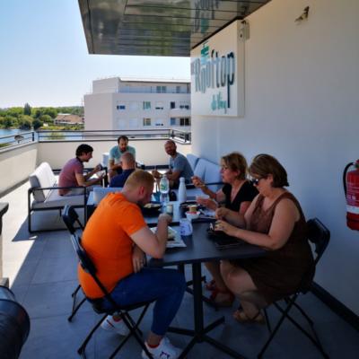 Coworking terrasse