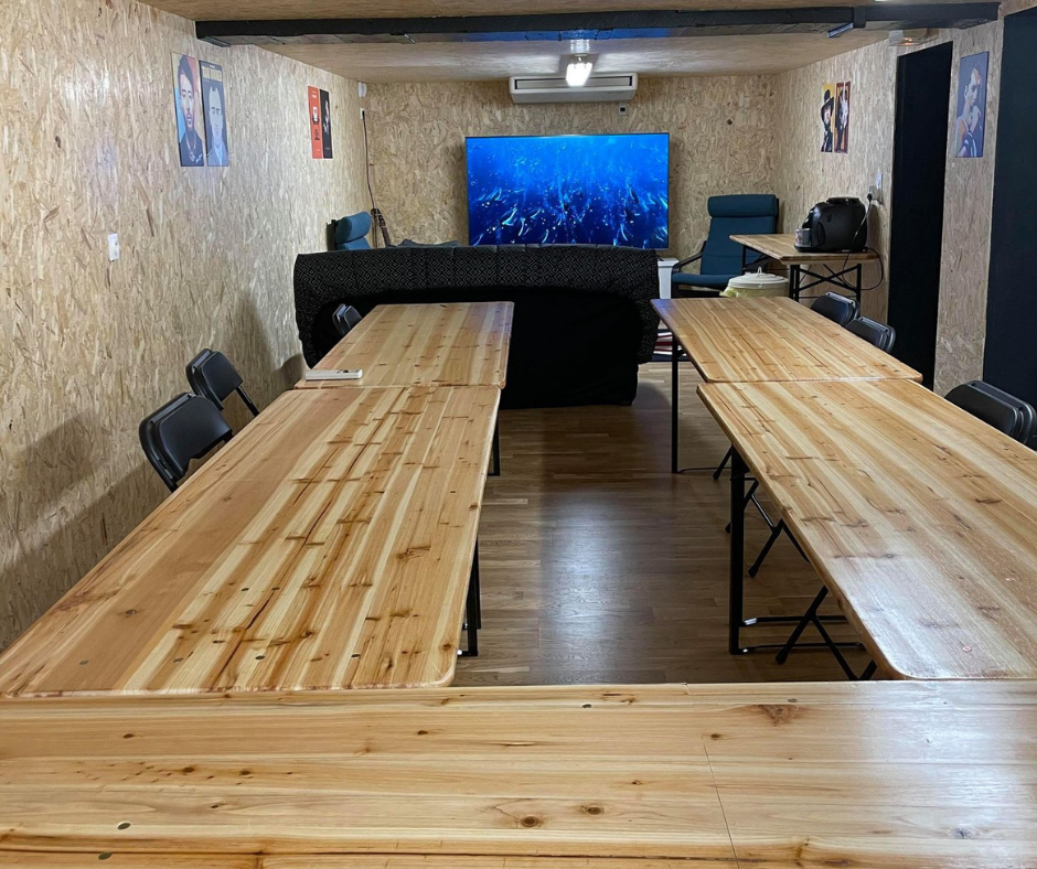 Salle de réunion cosywork